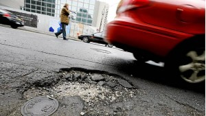 how potholes damage your car, radair, rad air, pothole, cleveland, wheels, tires, potholes, damage
