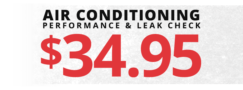 Rad Air AC Performance and Leak Check Special Offer