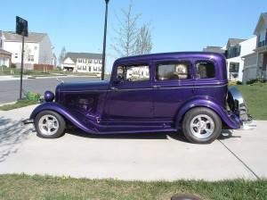 Brake repair job at Rad Air in Garfield Heights, Ohio. 1933 Dodge