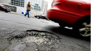 how potholes damage your car, radair, rad air, pothole, cleveland, wheels, tires, potholes, damage