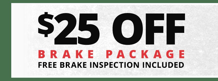 Rad Air Brake Repair Offer