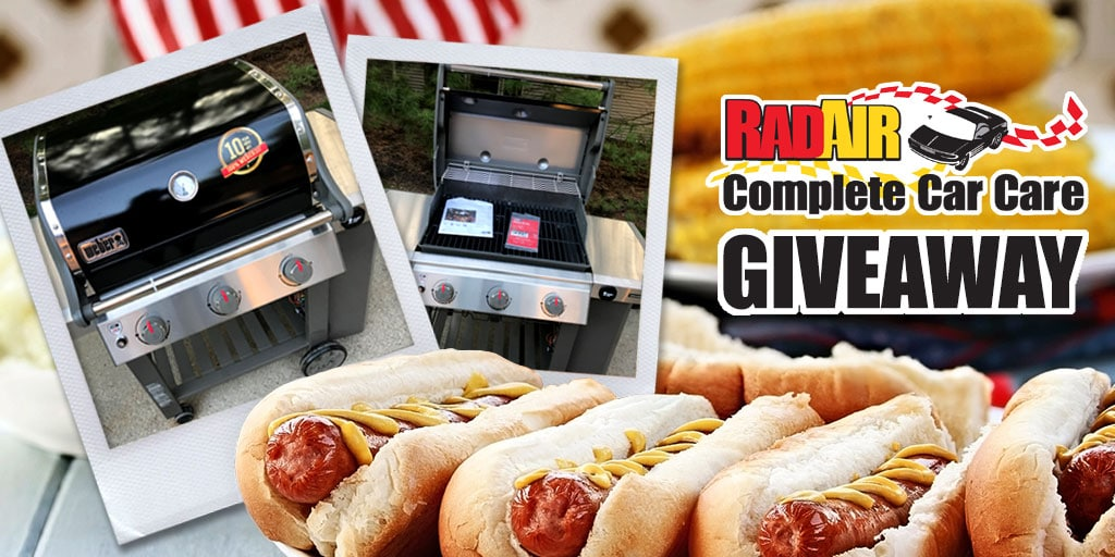 Rad Air Grill Giveaway