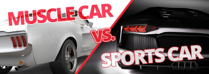 Muscle Car VS Sports Car